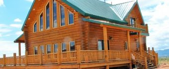 Red Rock Ranch: Log Cabin Vacation Rental in Escalante, Utah